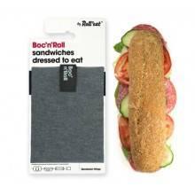 sandwich-wrapper-bocnroll-eco-pack-black Portabocadillos Eco Colores negro Ecovidasolar