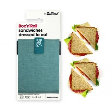 sandwich-wrapper-bocnroll-eco-pack-green Porta Bocadillos Eco Colores Verde Ecovidasolar 1