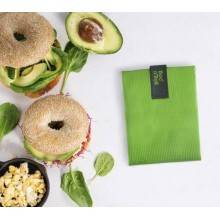sandwich-wrapper-bocnroll-square-pack-green Porta Bocadillo Square Boc'N'Roll verde Ecovidasolar