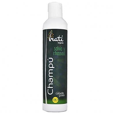 Champu ecologico cabello graso - Irati Organic