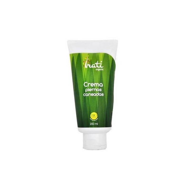 Crema piernas cansadas ecologica - Irati Organic - Ecovidasolar