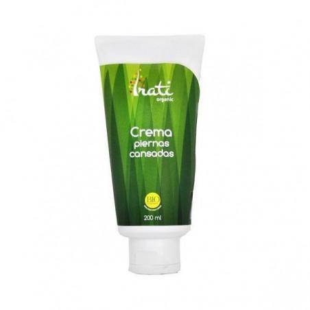 Crema piernas cansadas ecologica - Irati Organic