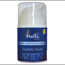 Crema hidratante hombre con enebro ecológica - Irati Organic