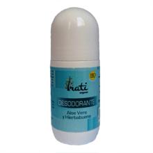 Desodorante ecológico aloe vera y hierbabuena - Irati Organic