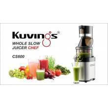 Extractor de zumos profesional Kuvings CS600 Whole Slow Juicer Chef - Ecovidasolar