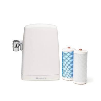 Filtro de agua AQ 4000 AQUASANA - ECOVIDASOLAR blanco.