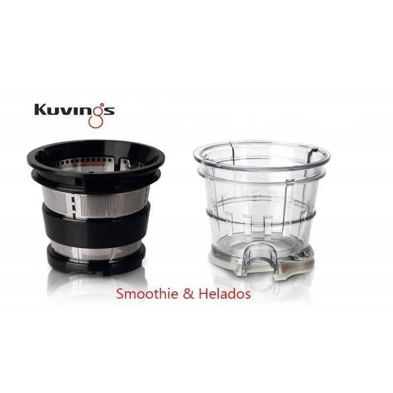 Kuvings - Filtro Grueso Smoothies - Extractor de zumos C9500 - Ecovidasolar