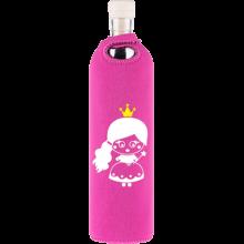 Botella de vidrio Flaska neo Kids Princesa - Ecovidasolar
