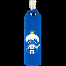 Botella de vidrio Flaska neo Kids Príncipe - Ecovidasolar