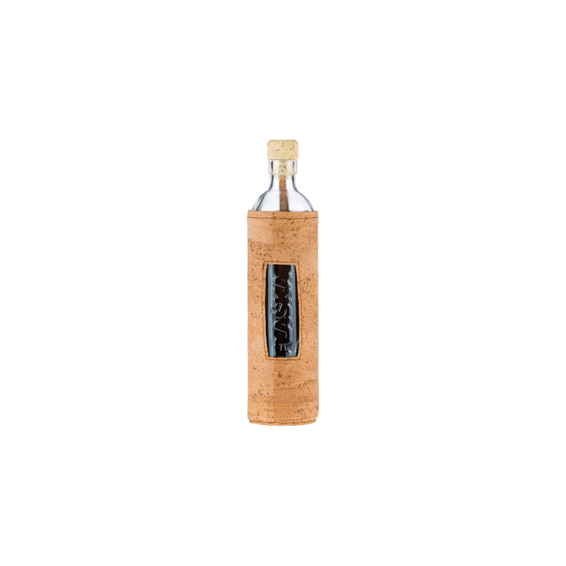 Botella de vidrio Natural Cork - Flaska - Ecovidasolar