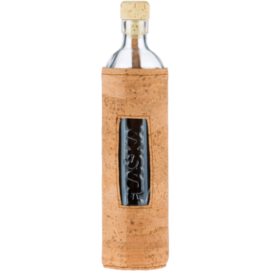 Botella de vidrio Natural Cork - Flaska