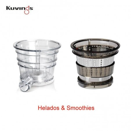 filtro-para-smoothies-Extractor de zumos Kuvings CS600-Ecovidasolar