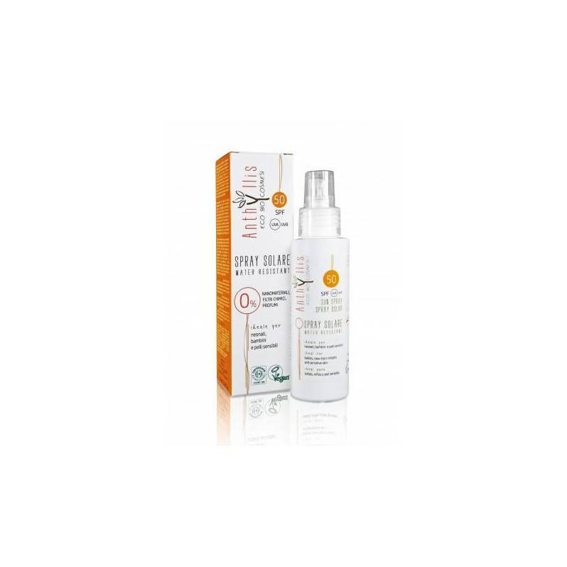 Spf 50 - Spray solar niños y adultos – Anthyllis - Ecovidasolar