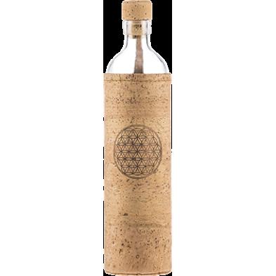 Botella de vidrio Spiritual Flor de la vida - Flaska - Ecovidasolar