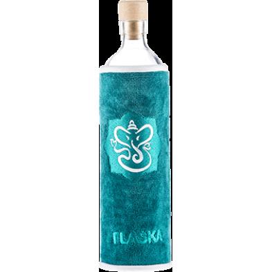 Botella de vidrio Spiritual Ganesha - Flaska