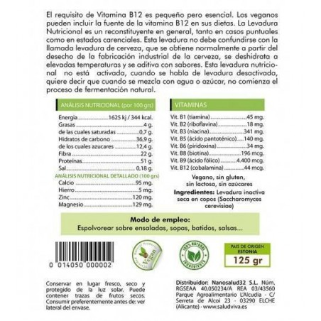 levadura-nutricional-b12-Saludviva-Superalimentos-Ecovidasolar.