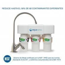 Sistema de filtraje 3 etapas bajo encimera AQ 5300 Aquasana - Ecovidasolar
