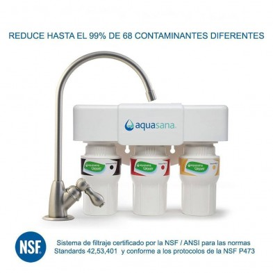Filtro de agua bajo encimera 3 etapas AQ 5300 - Aquasana