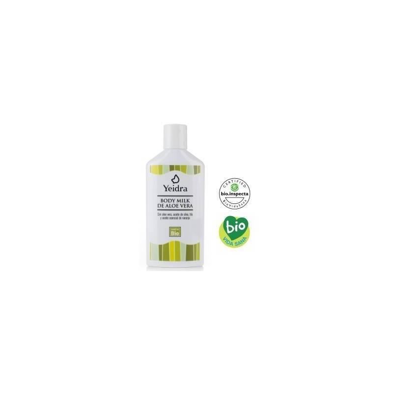 Body Milk de Aloe Vera Yeidra Ecovidasolar