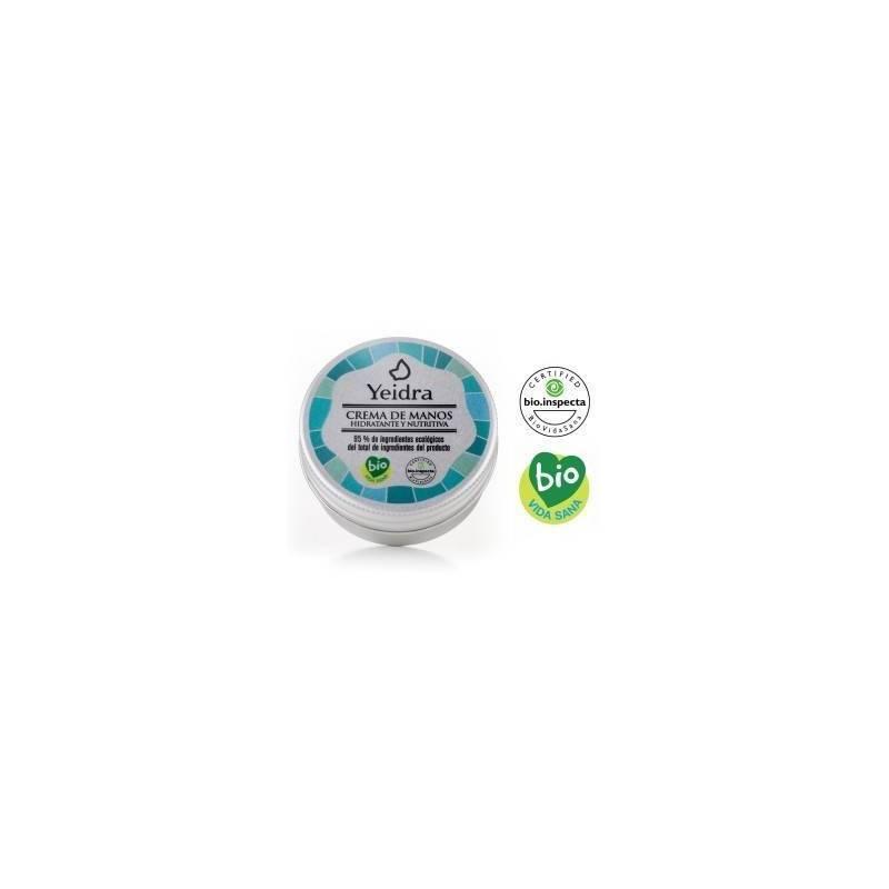 Crema de manos ecológica Yeidra Ecovidasolar