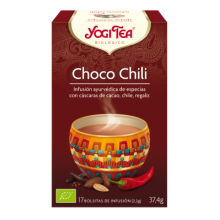 Choco Chili Yogi Tea - Biológico - Ecovidasolar