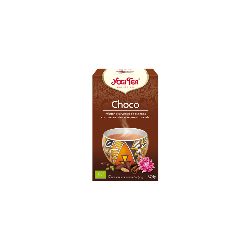 Choco Yogi Tea - Biológico - Ecovidasolar