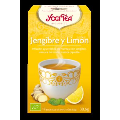 Jengibre y Limón Yogi Tea - Biologico - Ecovidasolar