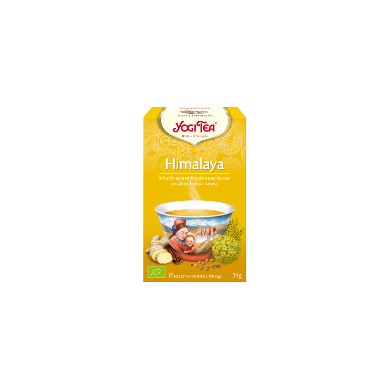 Himalaya Yogi Tea - Biológico - Ecovidasolar