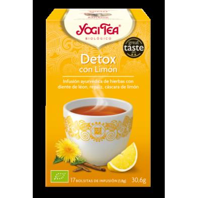 Detox con limón Yogi Tea - Biológico