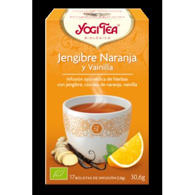 Jengibre Naranja y vainilla Yogi Tea - Biológico - Ecovidasolar