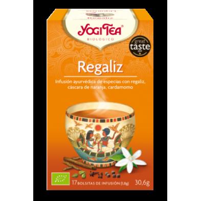 Regaliz Yogi Tea - Biológico - Ecovidasolar