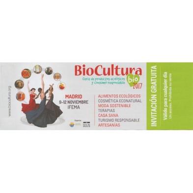 2 entradas para Biocultura Madrid 2017 gratis