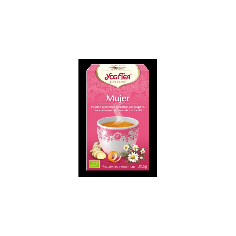Mujer Yogi Tea - Biológico - Ecovidasolar