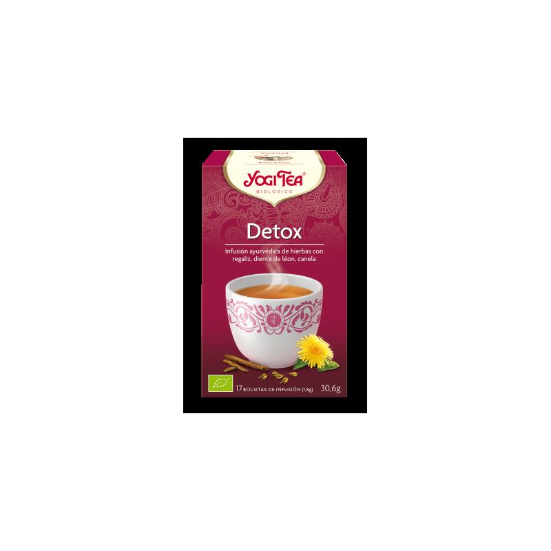 Detox Yogi Tea - Biológico - Ecovidasolar
