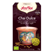 Chai Dulce Yogi Tea - Biológico - Ecovidasolar