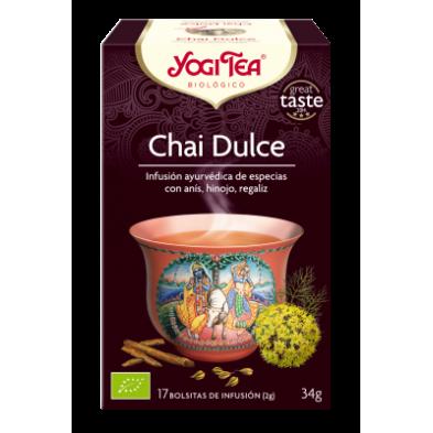 Chai Dulce Yogi Tea - Biológico