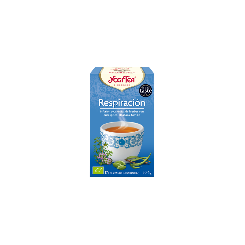 Respiración Yogi Tea - Biológico - Ecovidasolar