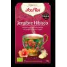 Jengibre Hibisco Yogi Tea - Biológico - Ecovidasolar