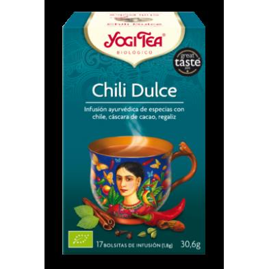 Chili Dulce Yogi Tea - Biológico