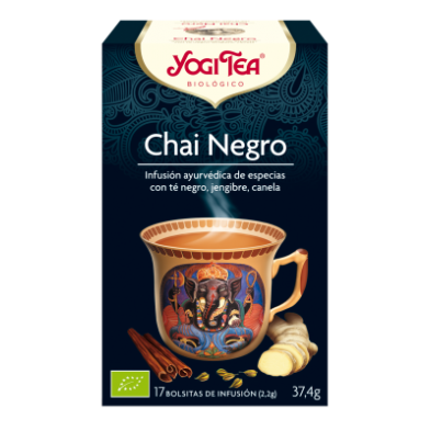 Chai Negro Yogi Tea - Biológico