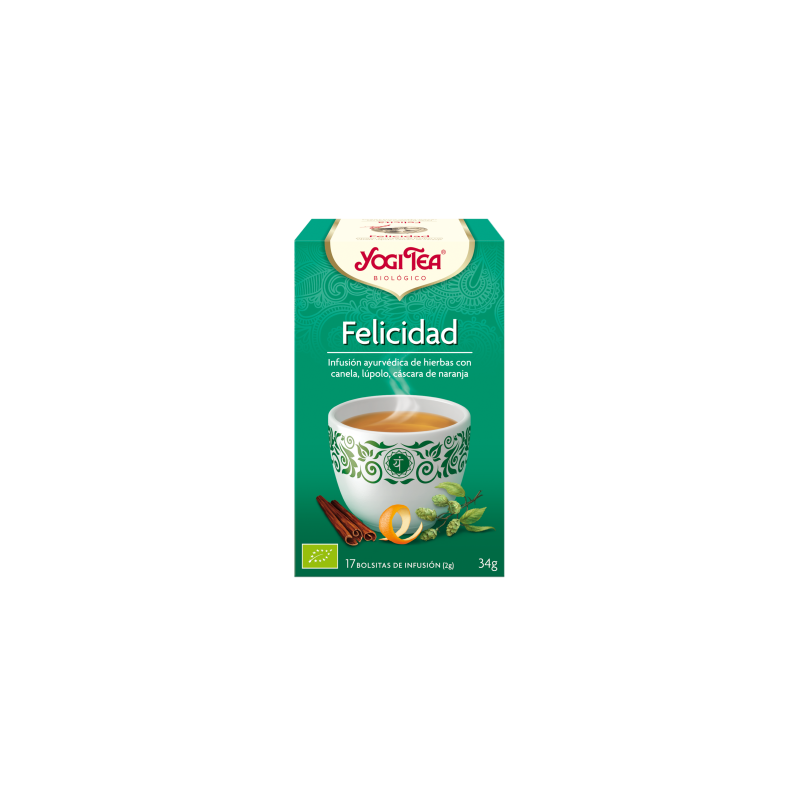Felicidad Yogi Tea - Biológico - Ecovidasolar