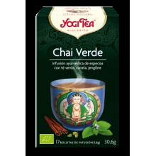 Chai Verde Yogi Tea - Biológico - Ecovidasolar