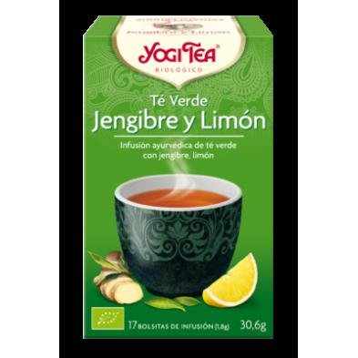Té Verde Jengibre y Limón - Yogi Tea