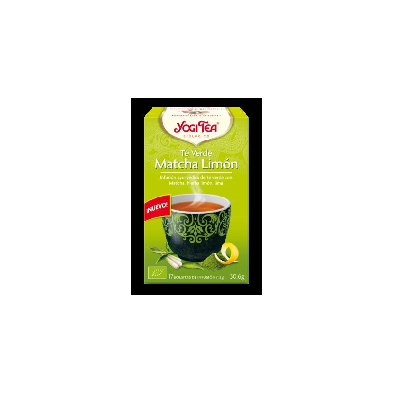 Té Verde Matcha Limón Yogi Tea - Biológico - Ecovidasolar