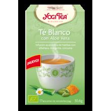 Té Blanco con Aloe Vera Yogi Tea - Biológico - Ecovidasolar