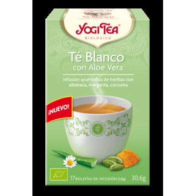 Té Blanco con Aloe Vera - Yogi Tea