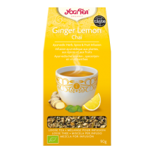Ginger Lemon Chai - Biológico - Ecovidasolar
