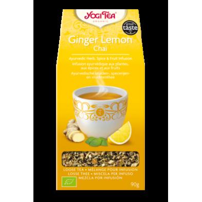 Jengibre y limón Chai - Yogi Tea