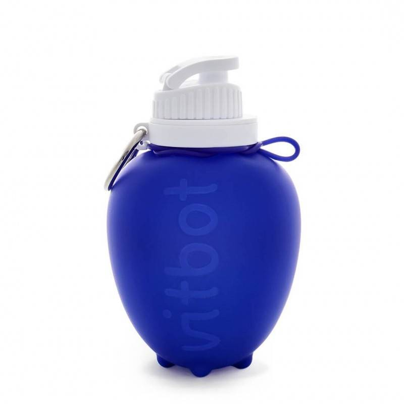 Botella de silicona Sport, Kids & Travel - Vitbot - Ecovidasolar