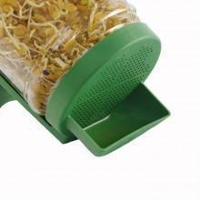 Tarro Germinador con soporte de plástico - Ecovidasolar